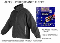 Alpex Performance fleece